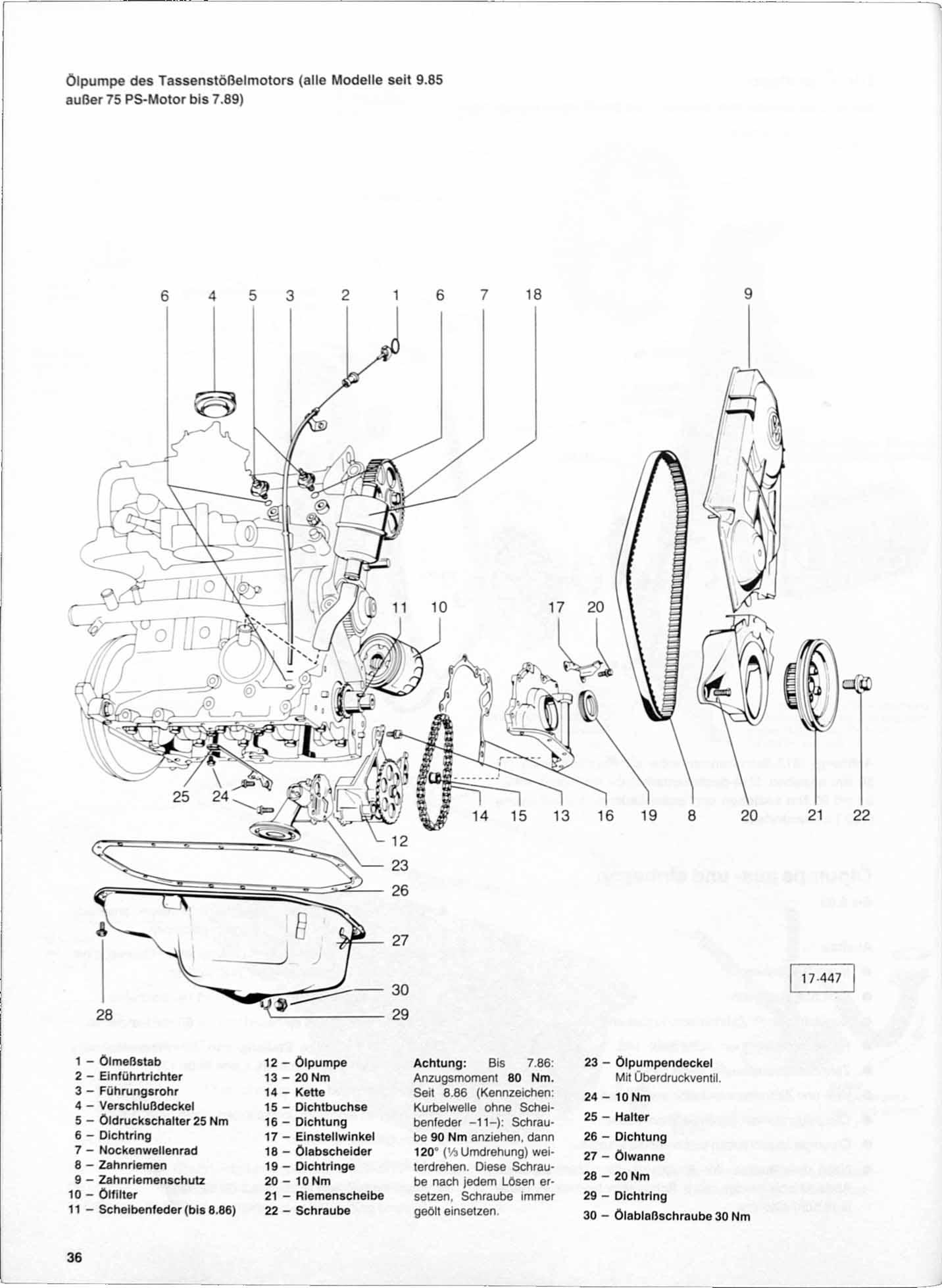 VW Polo II 1,3l Digifant Einspritz /& Zündanlage ab 86 // 52 Seiten Reparatur
