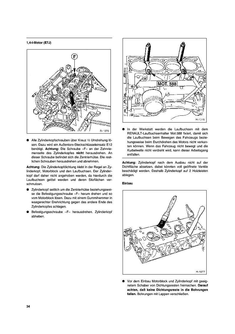 Reparaturanleitung Renault Megane Renault Scenic So Wird S Gemacht
